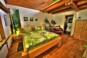 Bett Camera verde